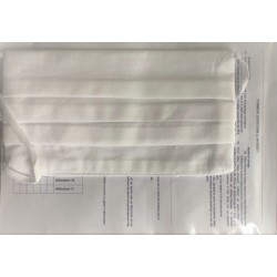 Masque hygiène 2 plis visiteur fabrication française couleur VERT