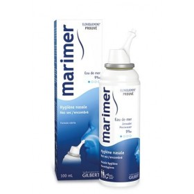 Spray nasal à l'eau de mer...