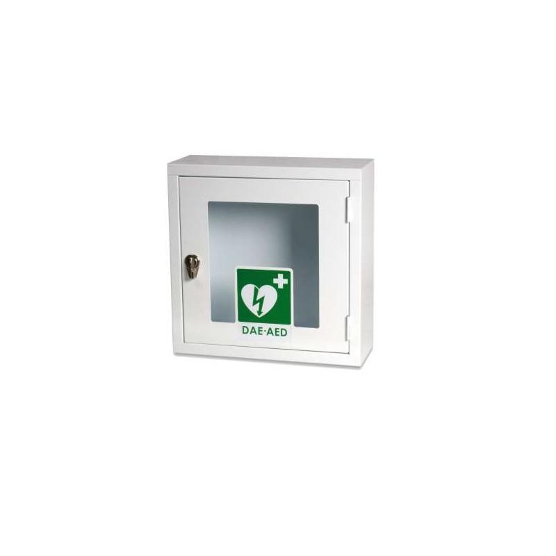 Boutique de 1er Secours - Armoire défibrillateur métal intérieur