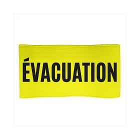 Brassard évacuation