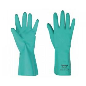 Paire de gants nitrile floqués